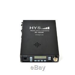136-174/400-470MHz Dual Band 25W Portable Mobile Radio Transceiver + Antenna