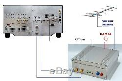144mhz + 432mhz to 28mhz Transverter HD for FLEX RADIO VHF UHF 15Wt conwerter