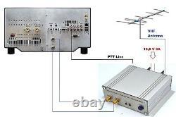 144mhz to 28mhz ASSEMBLED Transverter HD for FLEX RADIO VHF UHF 15Wt conwerter