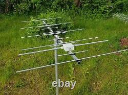 16 el dual band YAGI for 2m and 70cm (144-146 and 430-440 MHz) SO239 socket type