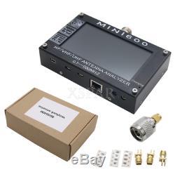 2019 Mini600 4.3 Touch LCD 0.1-600MHz HF/VHF/UHF ANT SWR Antenna Analyzer Meter