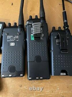 3x KENWOOD TH-79 144/430 MHz handy With Deskcharger, And Oth. Acc