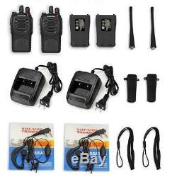 40x Baofeng BF-888S 5W Two-way Radio UHF 400-470MHz Handheld HT Walkie Talkie