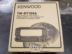 50 Watt Kenwood TM-D710GA 144/440 MHz FM Dual Band Mobiles TM-D710G