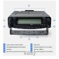 50W 27/50/144/430MHZ HF/VHF/UHF Mobile Transceiver Ham Radio with RX&TX26-33MHz