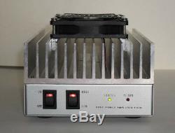 50W UHF or VHF Ham Radio Mono Band Power Amplifier 400MHz-470MHz 130MHz-170MHz