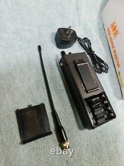 AOR AR 1000XLT SCANNER RADIO RECEIVER HANDHELD HF VHF UHF 0.5-1300 MHz + AIR