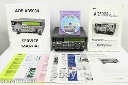 AOR AR5000U Receiver Scanner AM / HF / FM / VHF / UHF. 01 2600 MHz UNBLOCKED