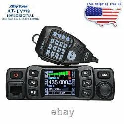 AnyTone AT-778UV 25W Dual Band 136-174 & 400-480MHz Amateur Radio Walkie Talkie
