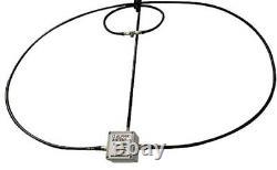 Basic 100w 10-40m Magnetic Hf Magloop Antenna Plus Vhf Uhf Adds A 2m 440mhz Loop