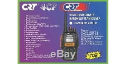 CB HAND HELD HAM AIR RADIO CRT 4CF DUAL BAND VHF 144-146 UHF 430-440 MHz TX-RX
