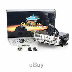 CB RANGER SUPERSTAR CRT 3900 EXPORT AM FM LSB USB FREQUENCY 26.965-28.405 MHz