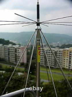 COMET DS-150S Discone Scanner Ham radio Antenna 25-1300 mhz Ham TX HD Free SH