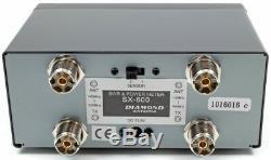 Diamond SX600 VHF/UHF SWR Power Meter 1.8-160/140-525 MHz 200 Watts