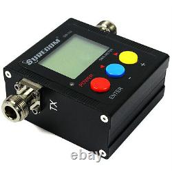 Digital Power/SWR Meter 125MHz-525MHz VSWR VHF/UHF 120W for Two Way Radio