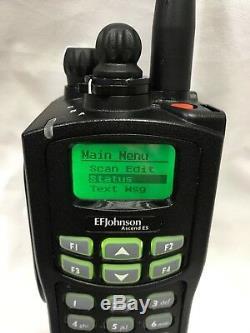 EF JOHNSON ASCEND ES 5100 7/800 MHz P25 Trunking Smartzone SmartNet Unlocked
