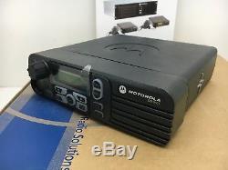 Globe Roamer Motorola DM3601 MDM27JNH9LA2AN VHF 136-174MHz MotoTRBO Mobile Radio