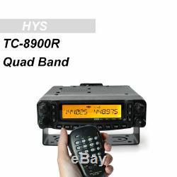 HYS TC-8900R 29/50/144/430 MHz Quad-Band FM Radio Transceiver 800 Channels