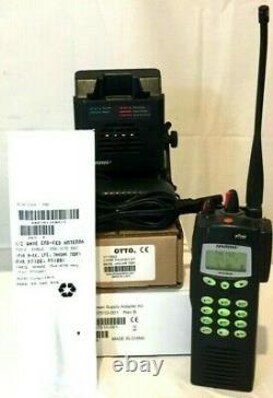 Harris P7270 P7200 Series P25 700/800MHz Radio ECP OTAR AES DES with Accessories