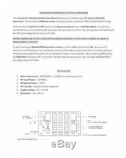 High Dynamic transverter 144 mhz to 28 mhz HF VHF UHF 10W 2 meter band ham radio