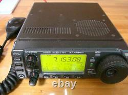 ICOM IC-706MKII HF144MHz All Mode Transceiver 100With20W Confirmed withmic, cable