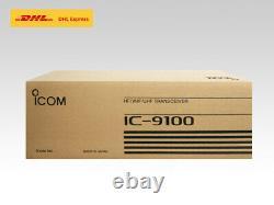 ICOM IC-9100 HF 50MHz SSB/CWithRTTY/AM/FM/DV 100W Transceiver DHL Fast Shipping