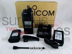 Icom F3261ds 11 Rc Idas Digital Ltr Radio 5w Vhf 136-174mhz 512ch Ham Ems Fire