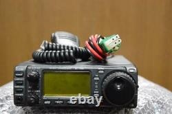 Icom IC 706 HF/50MHz/144MHz ALL MODE Transceiver Radio Used confirmed it