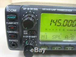 Icom IC-706MKG HF/50/144/433MHz All Mode Ham Radio Transceiver Tested F/S