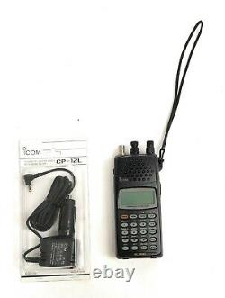 Icom IC-R10 Portable Wideband Communication Receiver 0.5 MHz to 1300 MHz