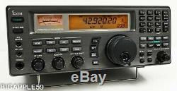 Icom IC-R8500 Shortwave AM FM SSB Receiver 100Khz 1999.99 Mhz & CR-293 Option