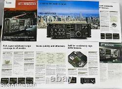 Icom IC-R9000 AM FM SSB CW Shortwave Receiver 100 KHz -1999 MHz Sherwood Mods