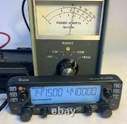 Icom Ic-2730a 50-watt 144/440mhz Dual Band 2-m/440-mhz Mobile Mars Modded