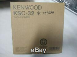 Kenwood TH-D72A 144/440 MHz FM Dual Bander with KSC-32 rapid charger
