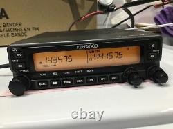 Kenwood TM-71A 144/440 MHz Dual Band Mobile Ham Radio LOOK