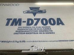 Kenwood TM-D700A 144/440MHz VHF/UHF FM Dual Bander Ham Radio Transceiver New