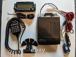 Kenwood TM-D700A APRS 144/440Mhz VHF/UHF Dual Band Ham Radio withProgram Cable