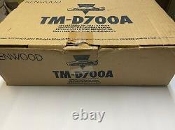 Kenwood TM-D700A APRS 144/440Mhz VHF/UHF Dual Band Ham Radio withProgram Cable