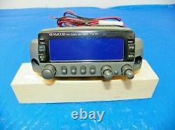 Kenwood TM-V7A 144/440 MHz FM Dual Bander with Manual S/N 20700068