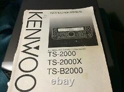 Kenwood TS-2000 Transceiver HF/50/144/430 MHz (NO 1.2 GHZ MODULE)