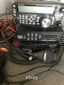 Kenwood TS-480SAT HF/50MHz transceiver Amateur Ham Radio + AT200 Auto tuner
