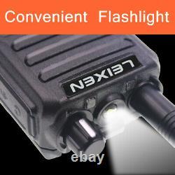 LEIXEN UV-25D 20W Dual Band Radio 136-174 & 400-470MHz Walkie Talkie + USB cable