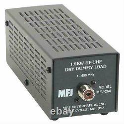 MFJ-264 Dry Dummy Load, 1.5kw, 0-650 MHz, SO-239 Input Ham Radio CB Radio