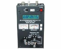 MFJ-269D HF/VHF/220MHz/UHF. 100-230, 415-470MHz, SWR Antenna Analyzer