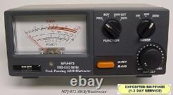 MFJ 873 Grandmaster SWR & Wattmeter, 125-525 MHZ, 5 20 & 200 Watt Range NEW