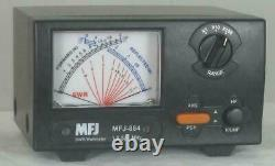 MFJ-884 1.8-525 MHz 200 W Cross Needle SWR/Wattmeter