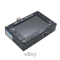MINI600 HF/VHF/UHF Antenna Analyzer 0.1-600MHZ with4.3 TFT LCD Touch Screen sz