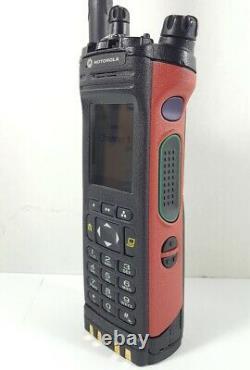 MOTOROLA APX7000 3.5 UHF 380-470 700/800 MHz P25 TDMA Digital Radio H97TGD9PW1AN