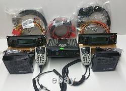 MOTOROLA XTL5000 XTL 5000 700 / 800 MHZ Digital APCO-25 RADIO DUAL CONTROL HEADS