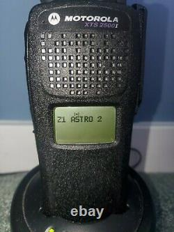 MOTOROLA XTS2500 1.5 VHF 136-174 MHz P25 Digital Radio H46KDD9PW5BN